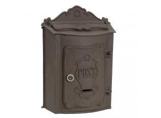 Litinová poštovní schránka - 27*11*37 cm