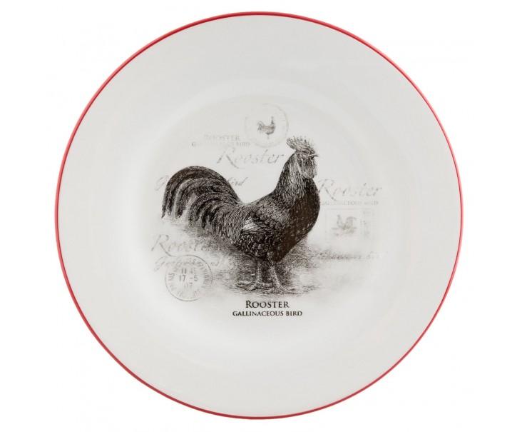 Mělký talíř Kohout Country side animal - Ø 26 cm