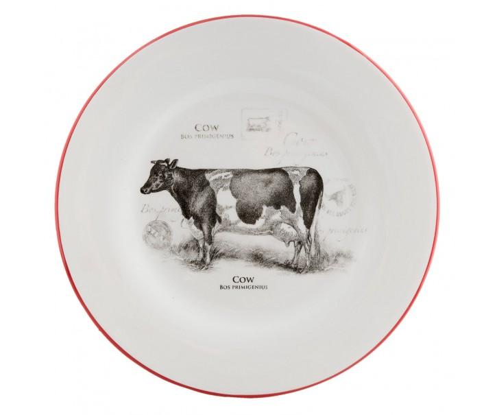 Mělký talíř Kráva Country side animal - Ø 26 cm