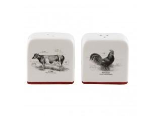 Slánka a pepřenka Kohout, Kráva Country side animal - 6*3*7 cm