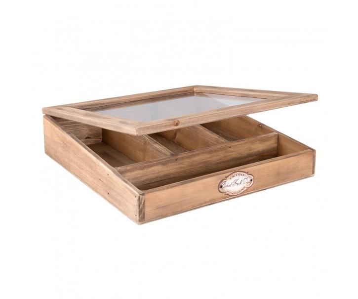 Dřevěný příborník Fresh Daily - 30*30*8 cm