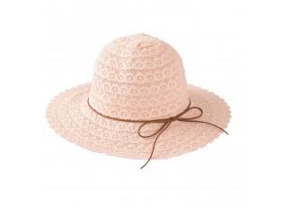 Dámský růžový klobouk Elise