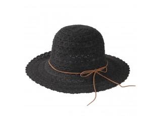 Dámský černý klobouk Elise