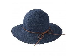 Dámský modrý klobouk Elise