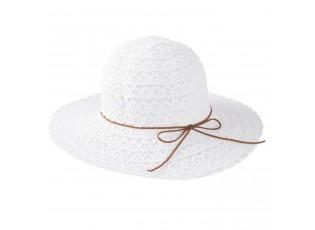 Dámský bílý klobouk Elise