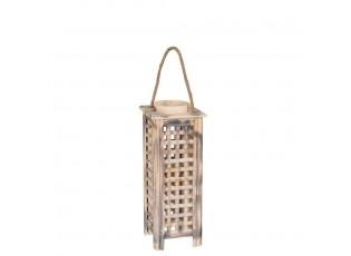 Dřevěná lucerna Toren S - 18*16*40 cm
