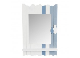 Nástěnné zrcadlo FISH - 35*5*53 cm