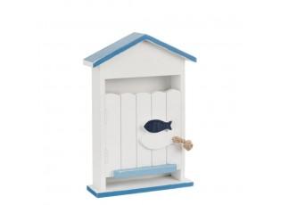 Skříňka na klíče HOUSE - 21*7*29 cm