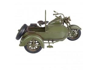 Retro model motocyklu se sajtnou - 31*19*17 cm