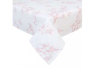 Ubrus na stůl Lovely Blossom Flowers - 100*100 cm