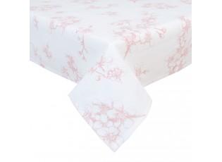 Ubrus na stůl Lovely Blossom Flowers - 150*150 cm