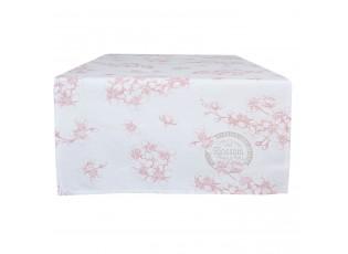 Běhoun na stůl Lovely Blossom Flowers - 50*140 cm