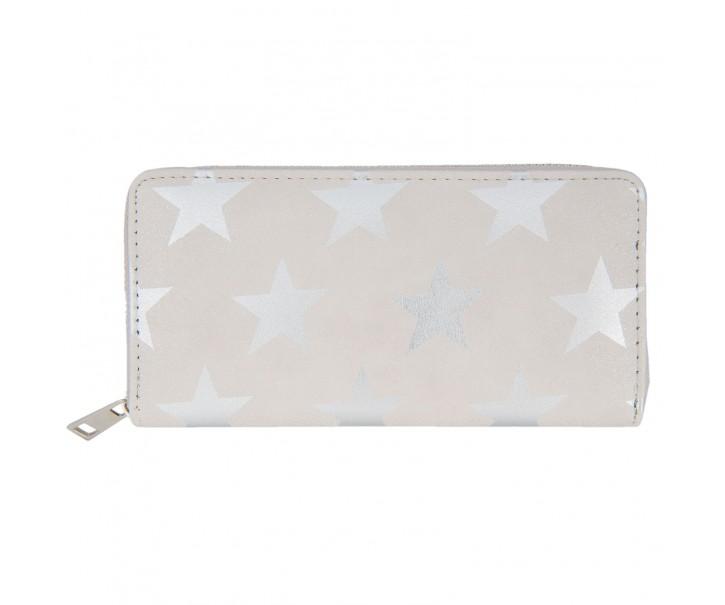 Střbrná peněženka All stars - 19*9 cm
