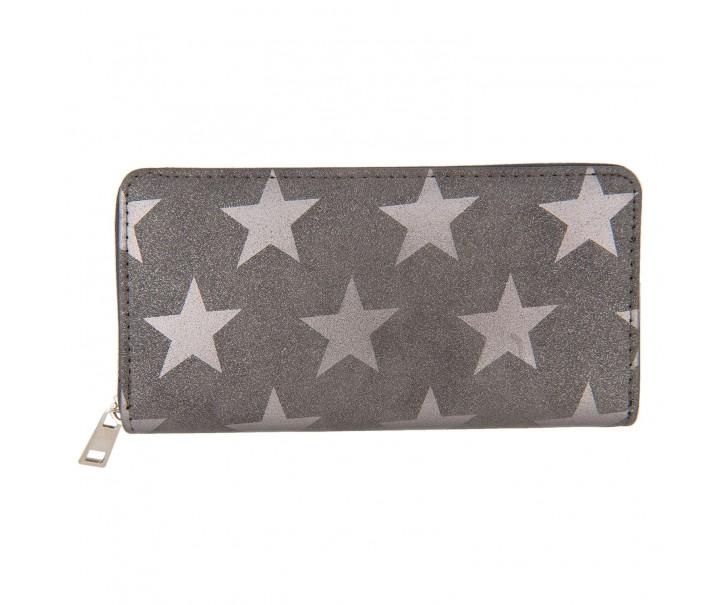 Šedá peněženka All stars - 19*9 cm