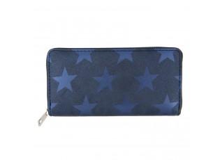 Modrá peněženka All stars - 19*9 cm