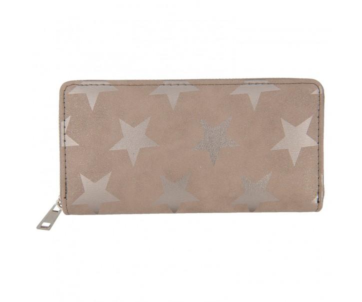 Béžová peněženka All stars - 19*9 cm