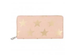 Růžová peněženka All stars - 19*9 cm