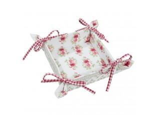 Košíček na pečivo Garden of Roses - 35*35 cm