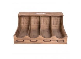 Dřevěný příborník  - 40*28*17 cm