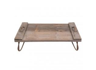 Dřevěný servírovací podnos - 56*38*16 cm