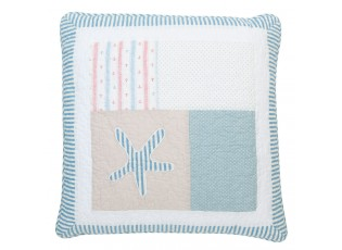 Povlak na polštář Blue square - 50*50 cm