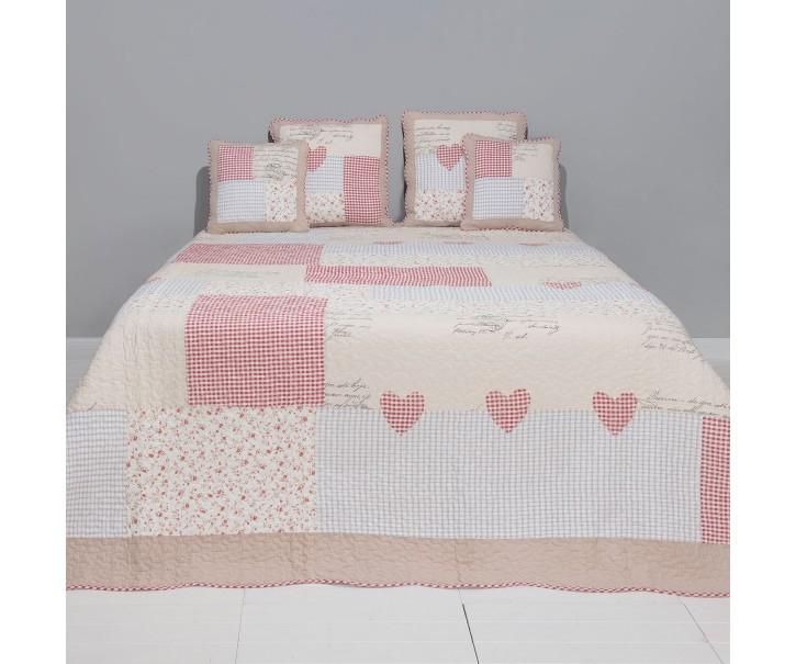 Přehoz na postel Vintage cubes - 180*260 cm