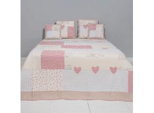 Přehoz na postel Vintage cubes - 260*260 cm