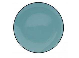 Mělký talíř modrý - Ø 26*3 cm