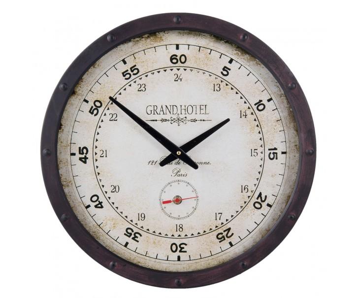 Kovové hodiny Grand hotel - Ø 40*8 cm
