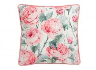 Povlak na polštář  s růžemi -  45*45cm