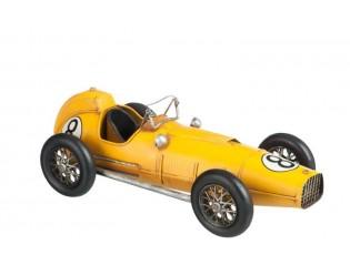 Kovový retro model auta Race Afgerond NR 8 - 41*18*14cm