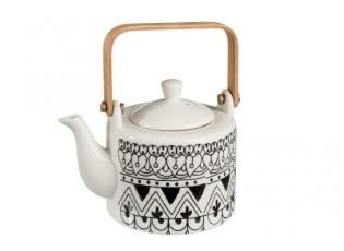 Konvička na čaj Mono Boho - 17*12*12cm