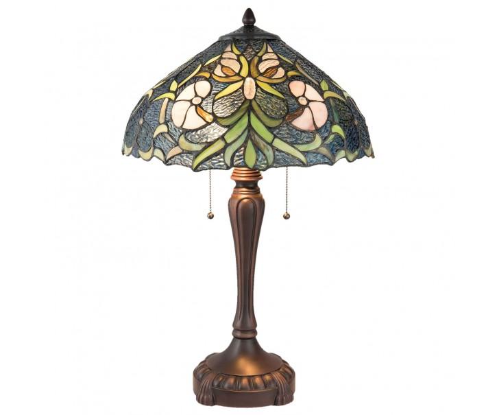 Stolní Tiffany lampa Wild - Ø 40*61 cm