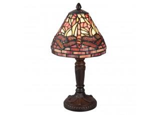 Stolní Tiffany lampa Dragonfly - Ø 18*33 cm