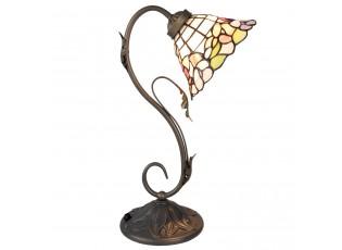 Stolní Tiffany lampa Blooming - Ø 20*48 cm