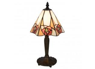 Stolní Tiffany lampa Rosa - 20*18*37 cm