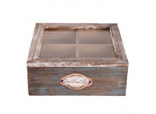 Krabička na čajové sáčky Fresh Daily - 18*18*7 cm