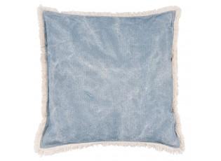 Modrý polštář s výplní - 45*45cm