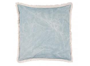 Světle modrý polštář s výplní - 45*45cm