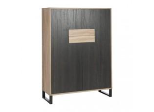 Dřevěná komoda Natchas - 100*40*138 cm