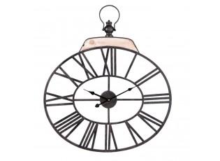 Kovoé oválné hodiny - 60*3*69 cm