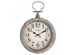 Kovové hodiny Old town - Ø 30*6*43 cm