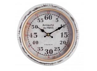 Kovové hodiny Antiquite de Paris - Ø 24*6 cm