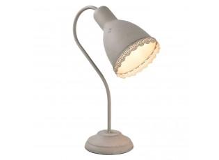 Šedá stolní lampa Aged - 14*23*38 cm