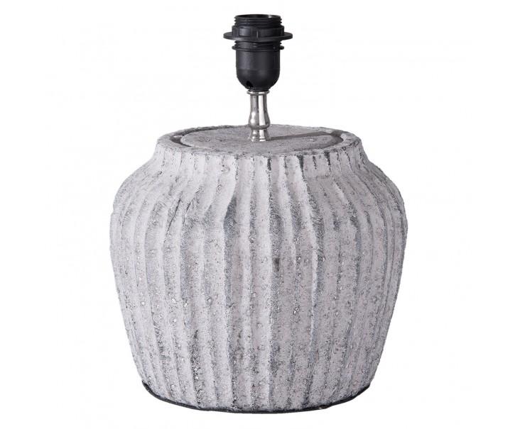 Cementová vintage základna k lampě  - Ø 26*32 cm/ E27/max 1*40W