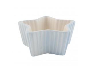 Modrá mistička hvězda Happy Cupcake - 12*11*5 cm / 0,1 L