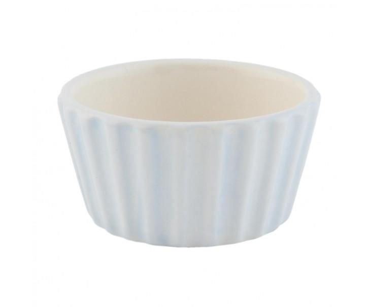 Modrá mistička Happy Cupcake - Ø 9*5 cm / 0,1 L