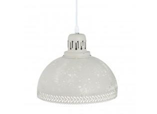 Světle šedé závěsné světlo - Ø 26*21 cm