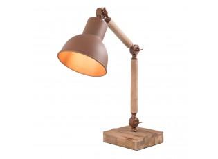 Dřevěná stolní lampička - 15*25*45 cm