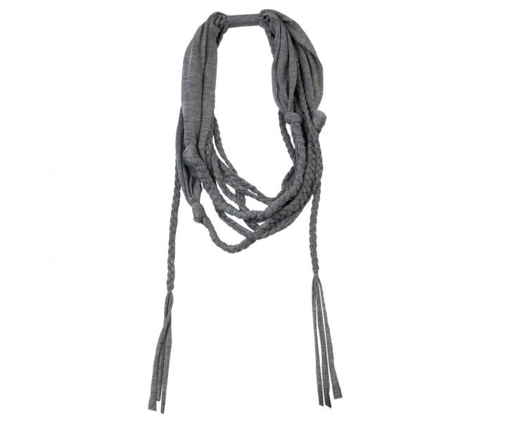 Šedý šátek Marina